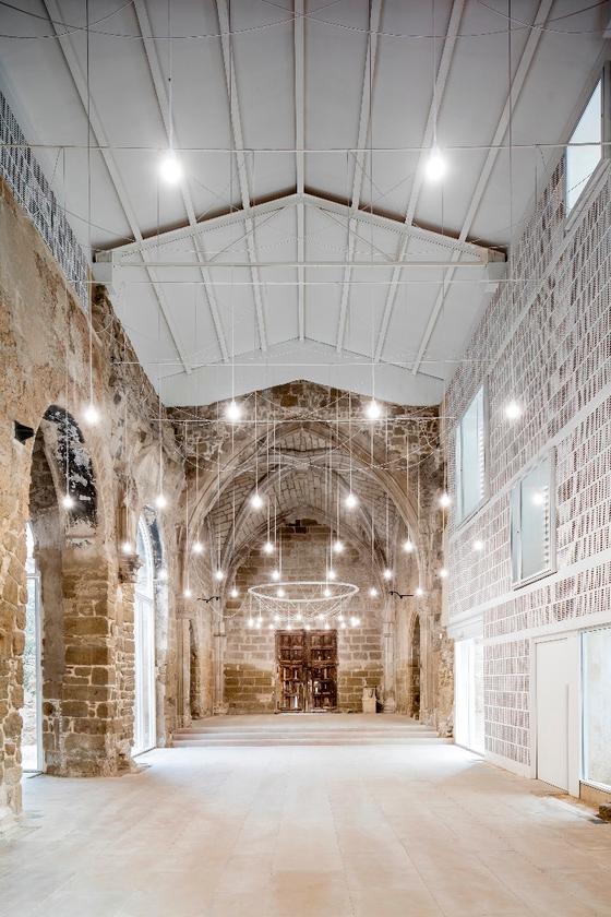 The Ancient Church of Vilanova de la Barca, Spain,byAleaOlea architecture & landscape