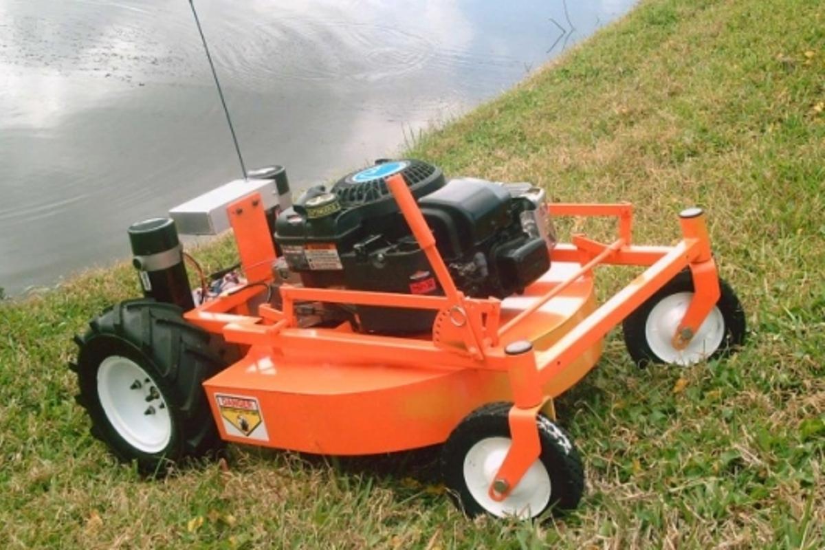 Evatech's GOAT R/C mower