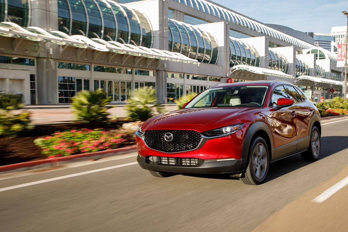Even at its most expensive, the well-done CX-30 is still priced under $30,000
