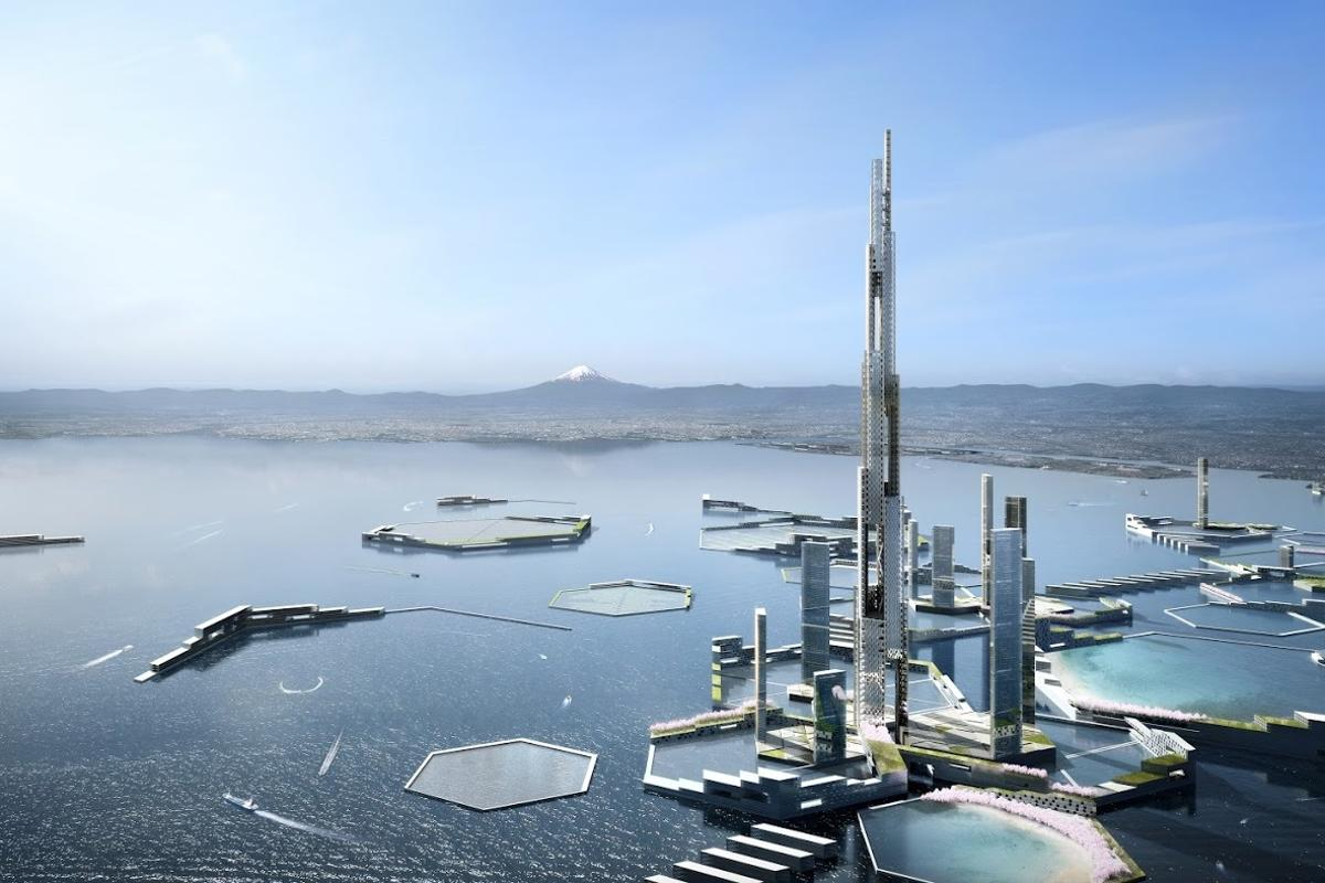 Sky Mile Tower would rise an incredible 1,700 m (5,577 ft)
