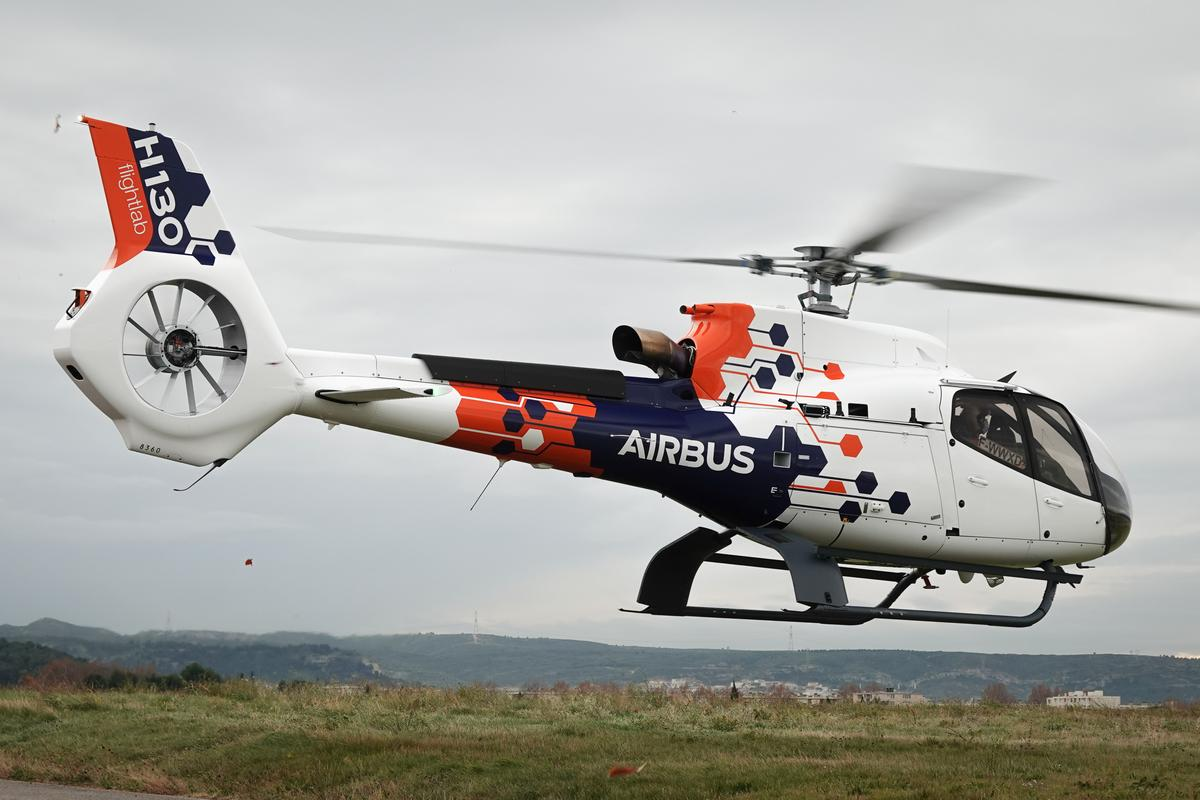 The H130 Flightlab is a test bed for new aircraft technologies