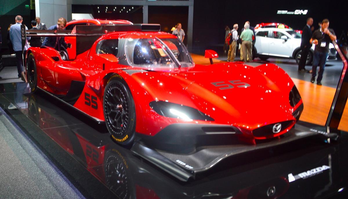 The Mazda RT24-P will debut for the racing season at the Rolex 24 Daytona on January 26 in Daytona Beach, Florida