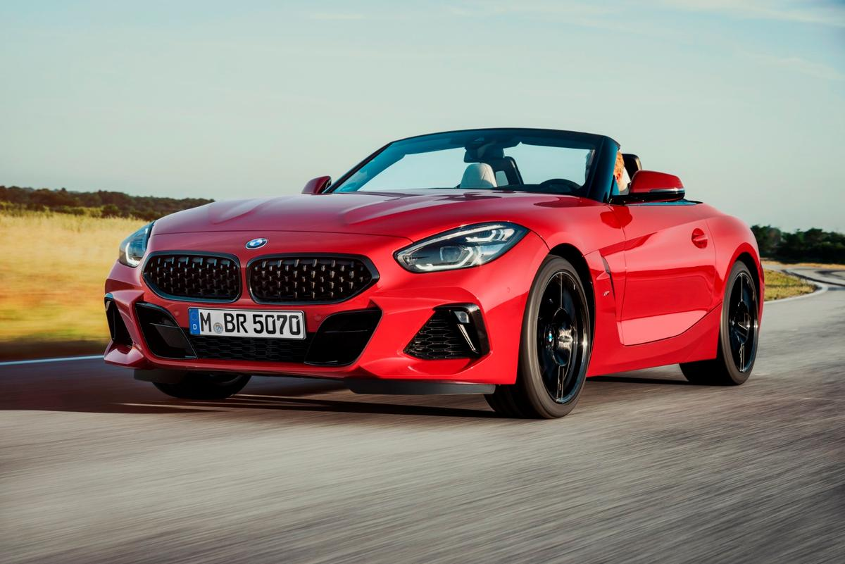 The Z4 debuting at Monterey follows on the presentation of the Concept Z4 that was presented at the same venue in 2017