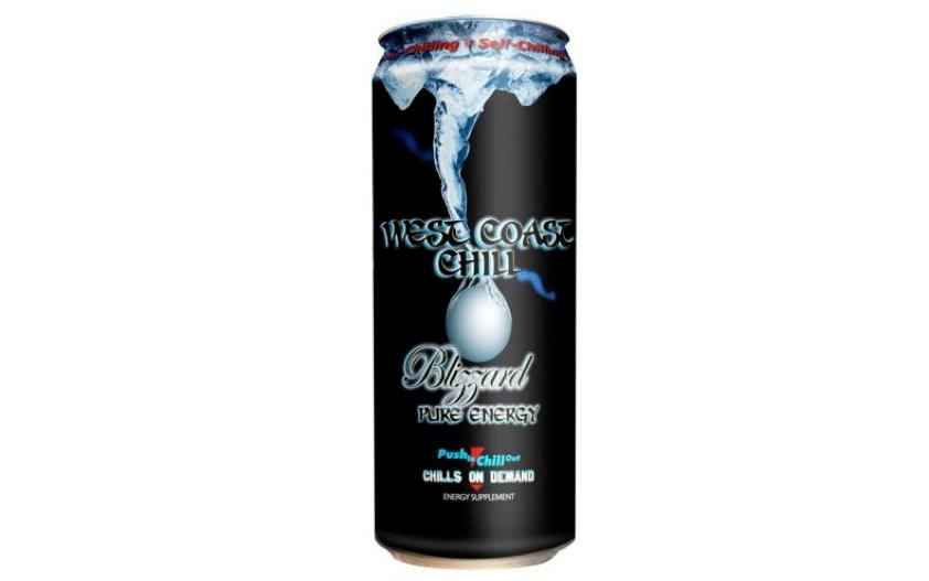 West Coast Chill is being touted as the world's first beverage to be sold in a self-chilling can