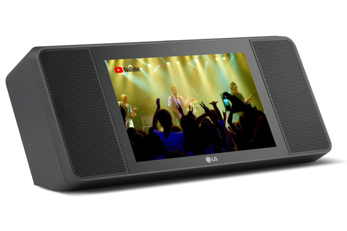 LG says that high fidelity audio is a given for itsXBoom AI ThinQ model WK9 smart speakerthanks to a partnership with Meridian Audio