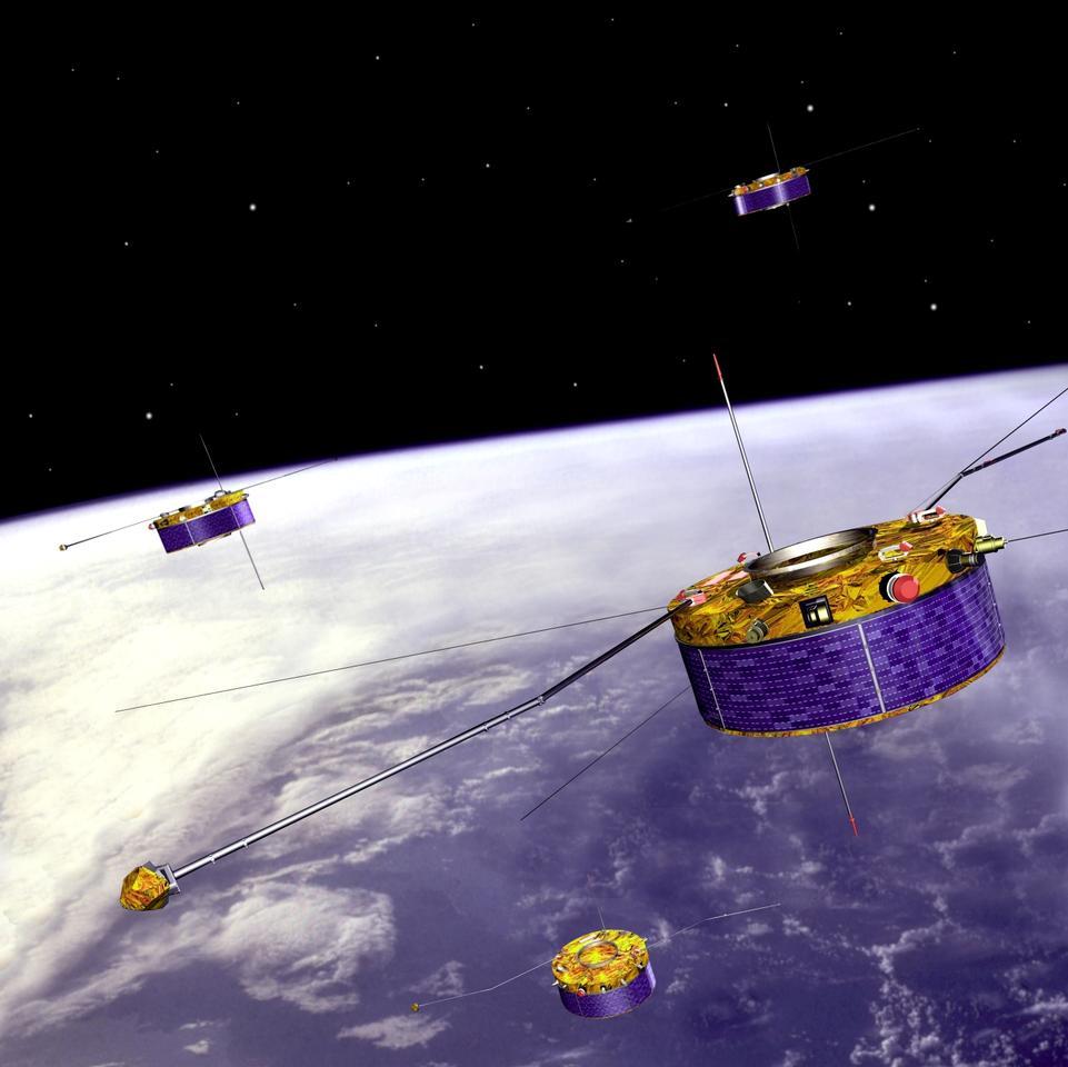 Cluster quartet (Image: ESA)