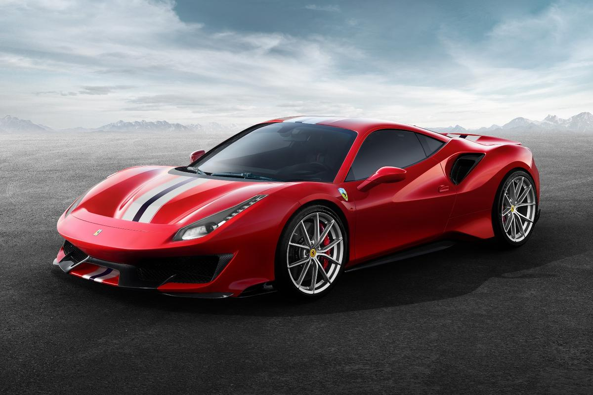Ferrari 488 Pista: sharpened and beefed up, the Pista makes the 488 GTB look like a tourer