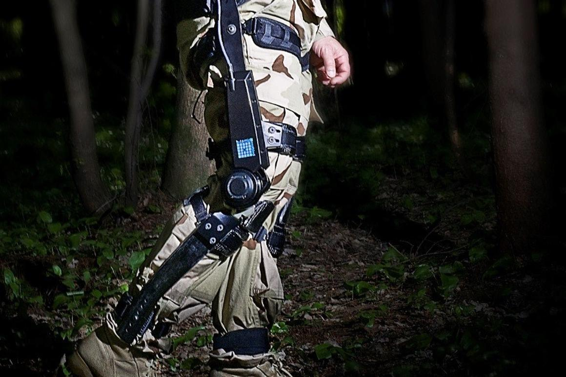 A look at the Lockheed Martin lower-body exoskeleton