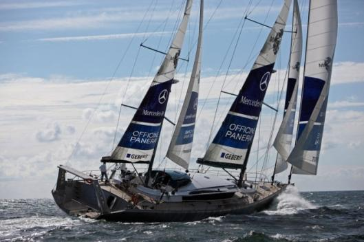 The PANGAEA sailing boat will be travelling to five continents, including the North and South Pole.