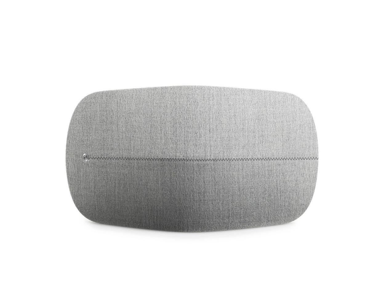 The BeoPlay A6 speaker packs a pair of tweeters and woofers each in the front and a full-range driver in the rear