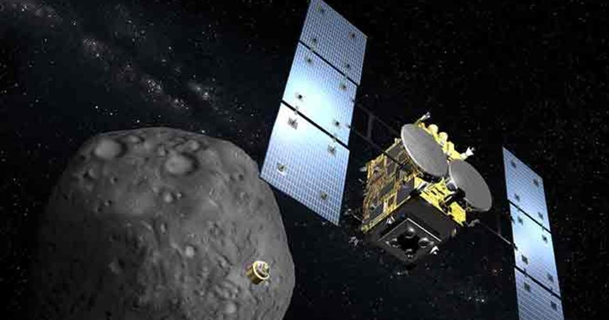Hayabusa2 returns asteroid samples to Earth after fiery reentry