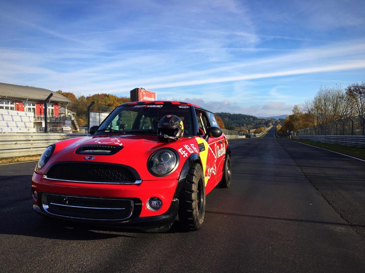 The record-breaking Mini Cooper