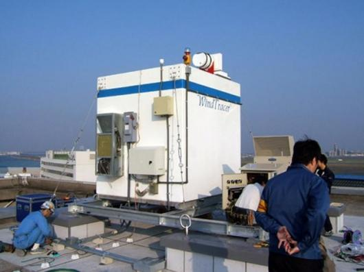 WindTracer unit at Haneda Airport