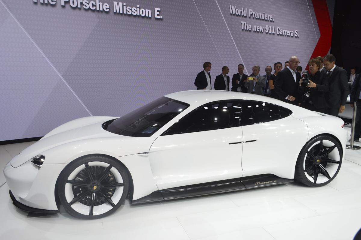 Porsche estimates a 311-mile range and 3.5-second 0-62 mph time for its all-electric car