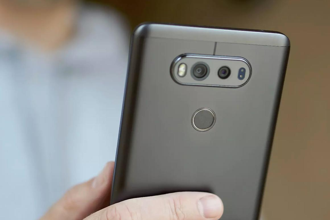 Last year's LG V20, shown above, had an f/1.8 aperture, but the LG V30 will knock that down to f/1.6