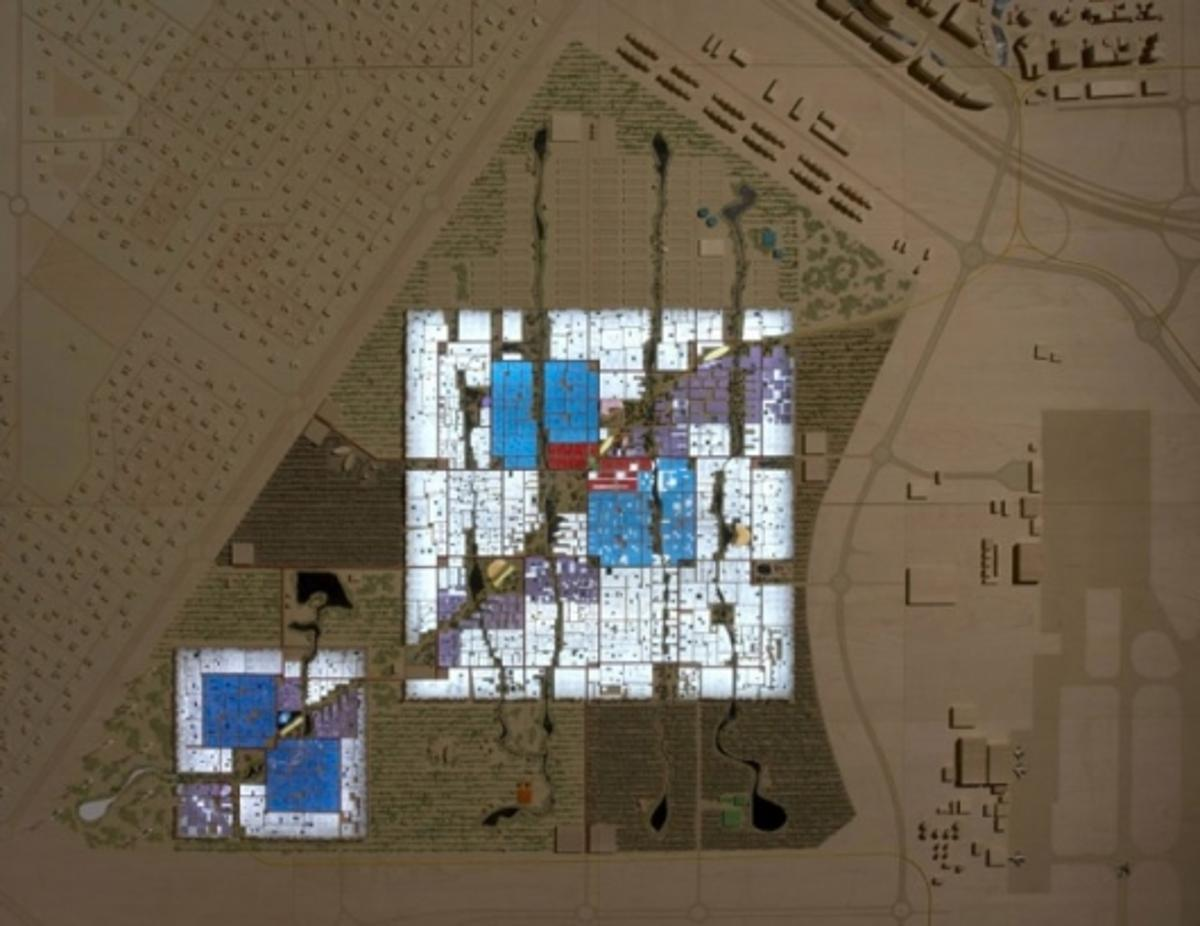 Eco vision: carbon neutral and zero waste communityImage: Foster + Partners