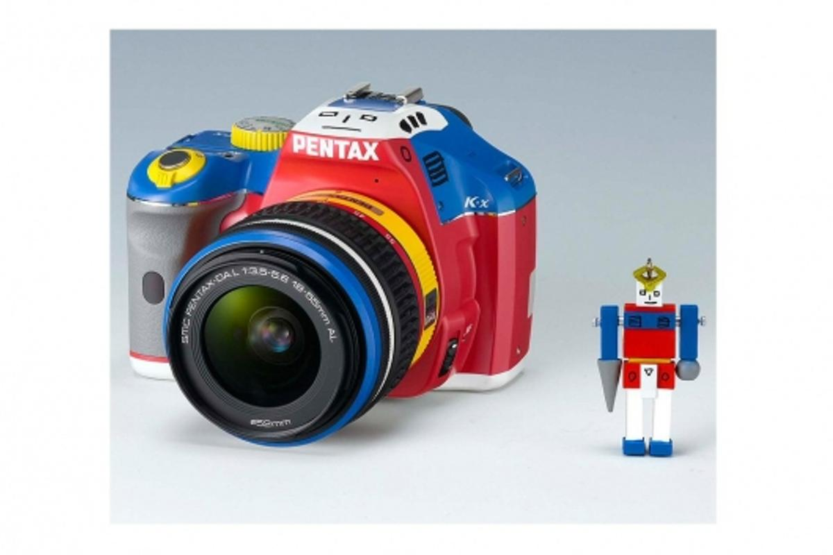 Each limited edition Korejanai K-x camera is shipped with its very own robot toy