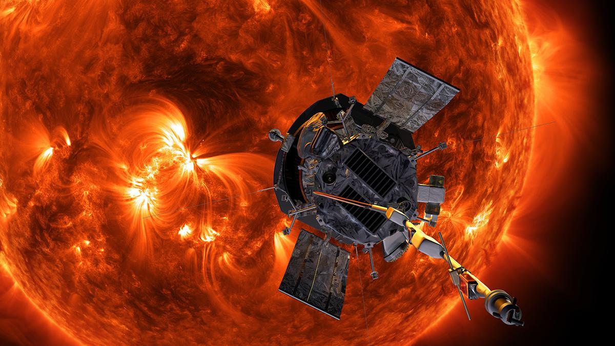 Artist's impression of the Parker Solar Probe