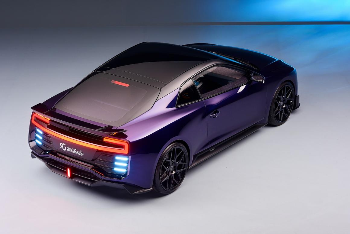 The Nathalie electric supercar uses a methanol fuel cell as a range extender