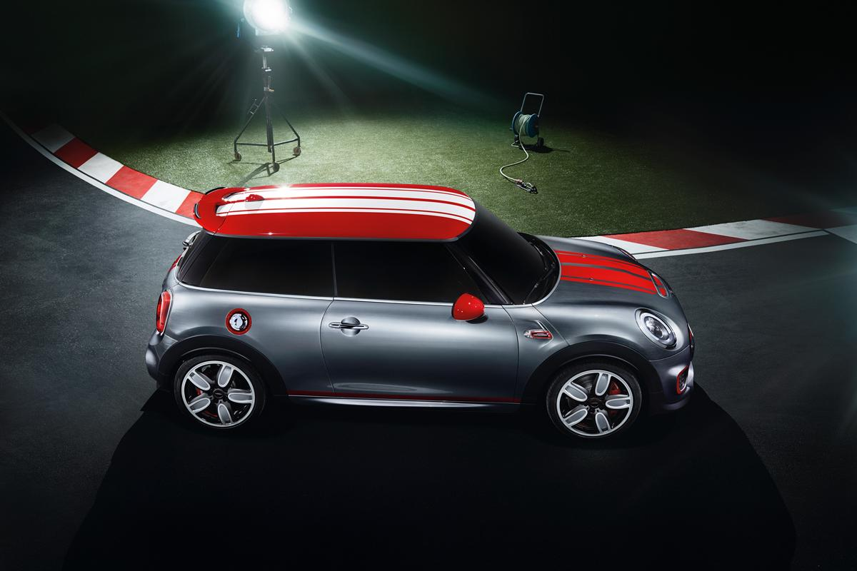 The Mini John Cooper Works concept will debut at the North American International Auto Show (NAIAS) 2014