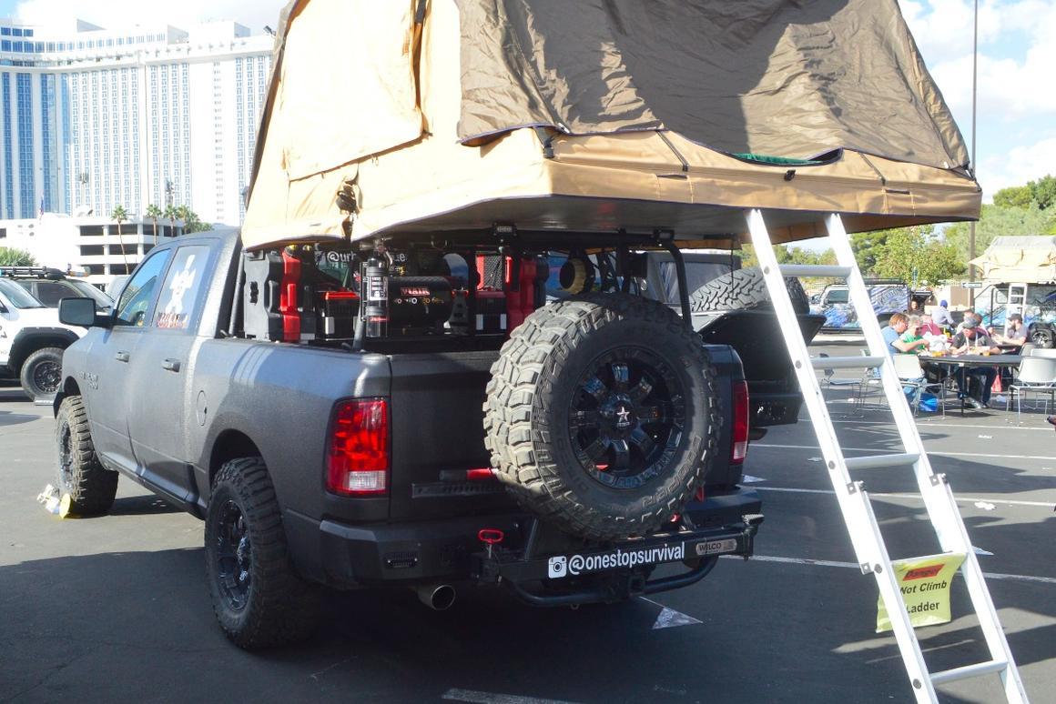 In photos: SEMA 2017's RVs, XVs, camper vans and adventure rigs