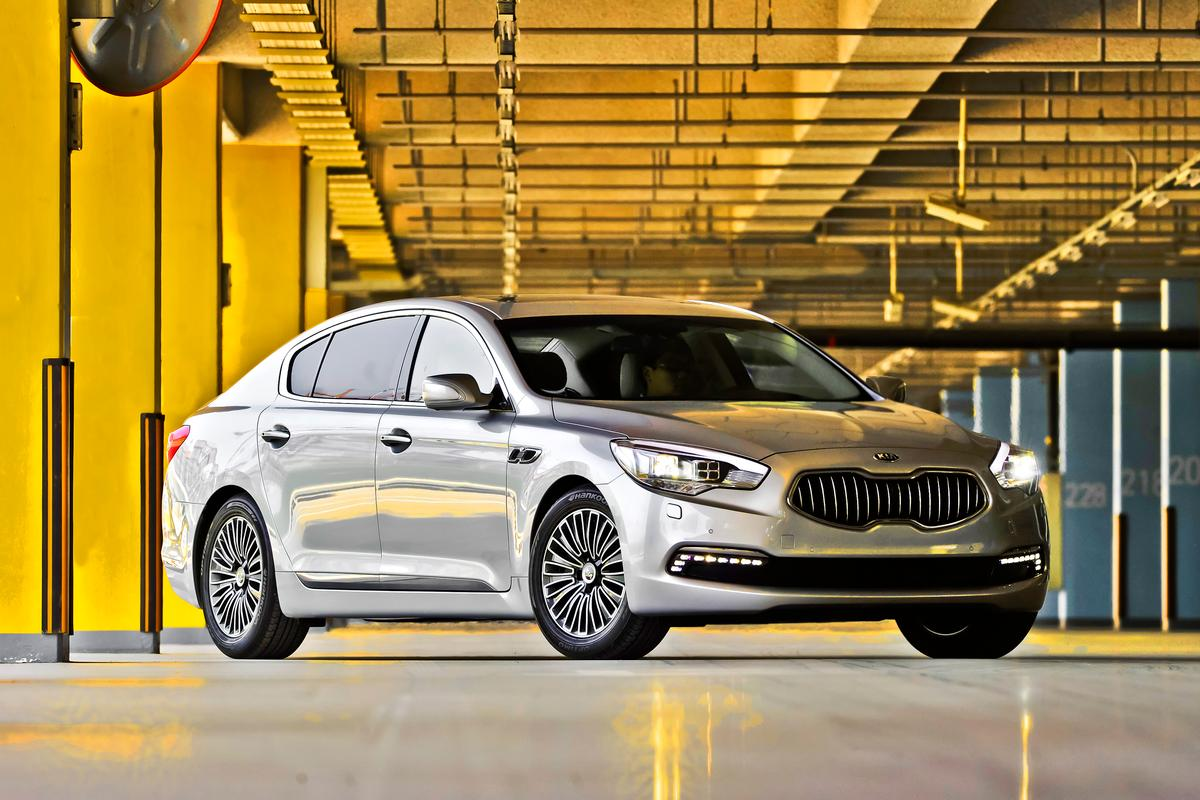 The Kia Quoris (Image: Kia)