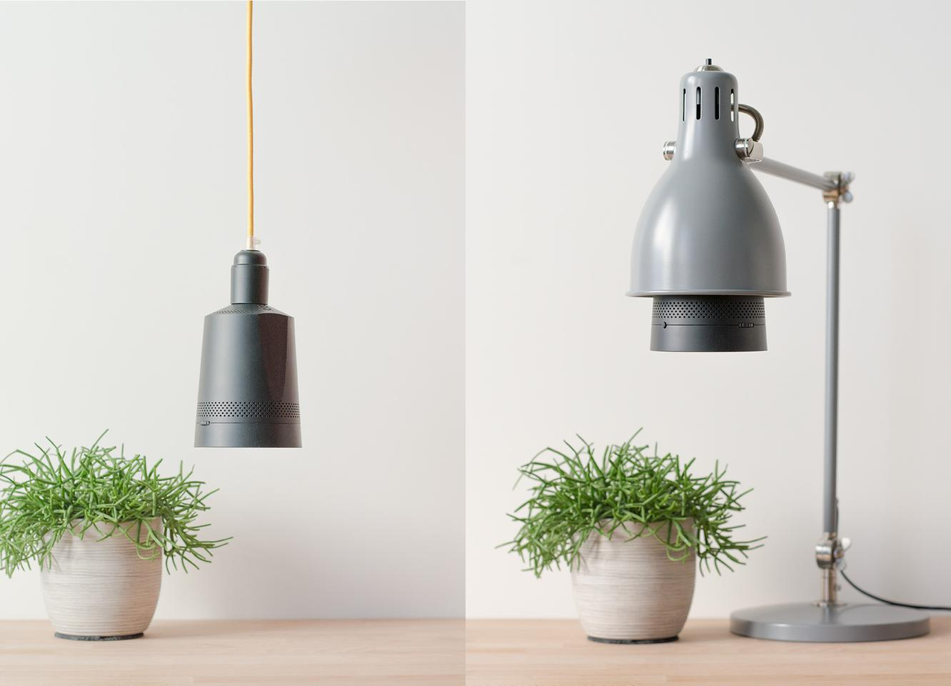 Beam is a smart projector that can be screwed into a light socket