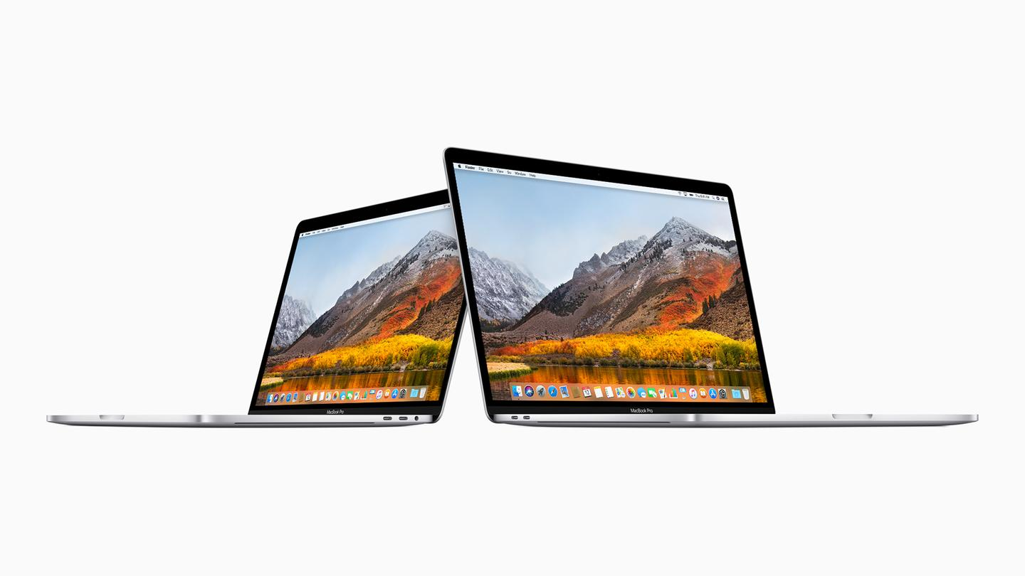 The specs upgrade affects every MacBook Pro with a Touch Bar