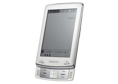 Samsung's eReader has a sliding design like a mobile phone