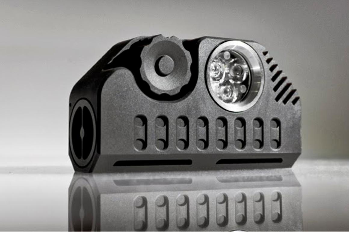 The Function Flashlight is designed to be a do-it-all portable light source