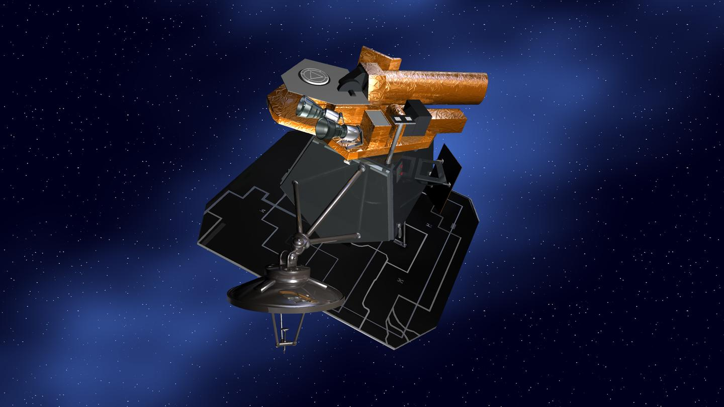 NASA believes that Deep Impactor's computers keep trying to reboot themselves (Image: NASA)