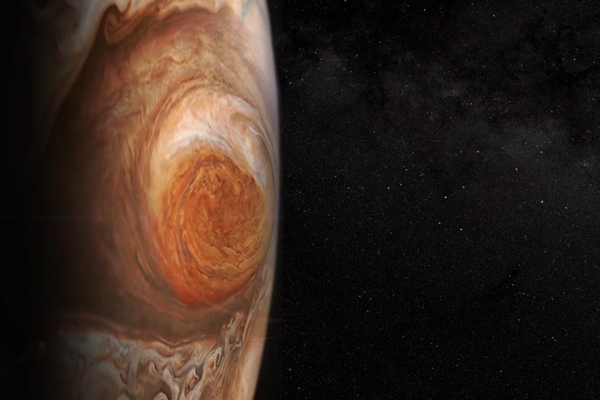 According to the study, Jupiter's Great Red Spot has been shrinking since 1878, with the exception of a brief expansion period in the 1920s