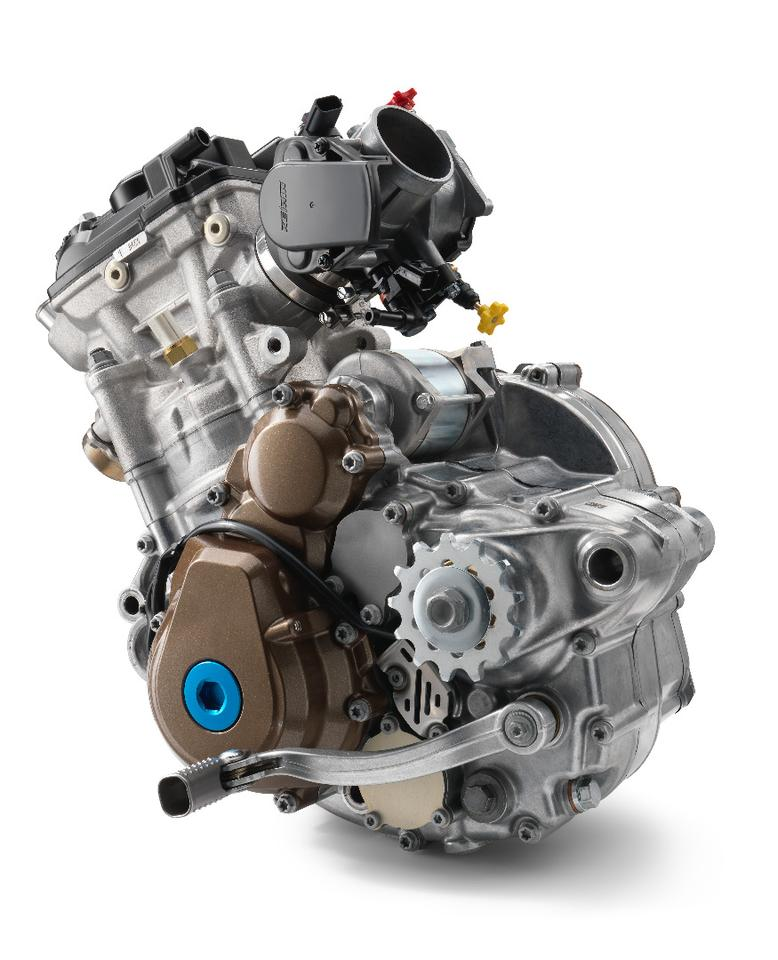 The Husqvarna FC 250 engine enjoys the updated version of Keihin's management system that includes traction control, launch control and four selectable maps