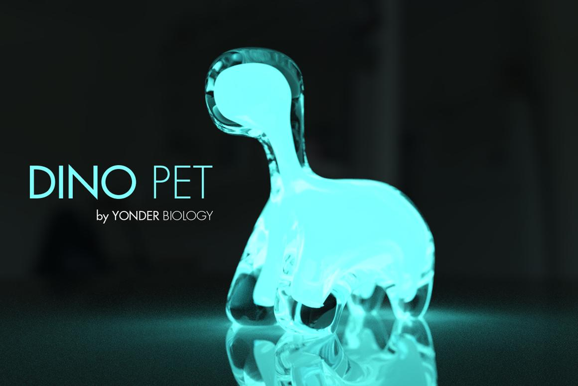 Dino Pet Living Night Light To Teach Kids About