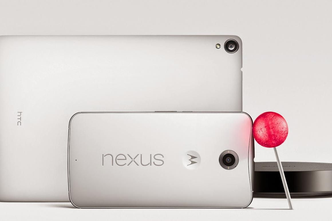 All three Nexus devices will run Android 5.0