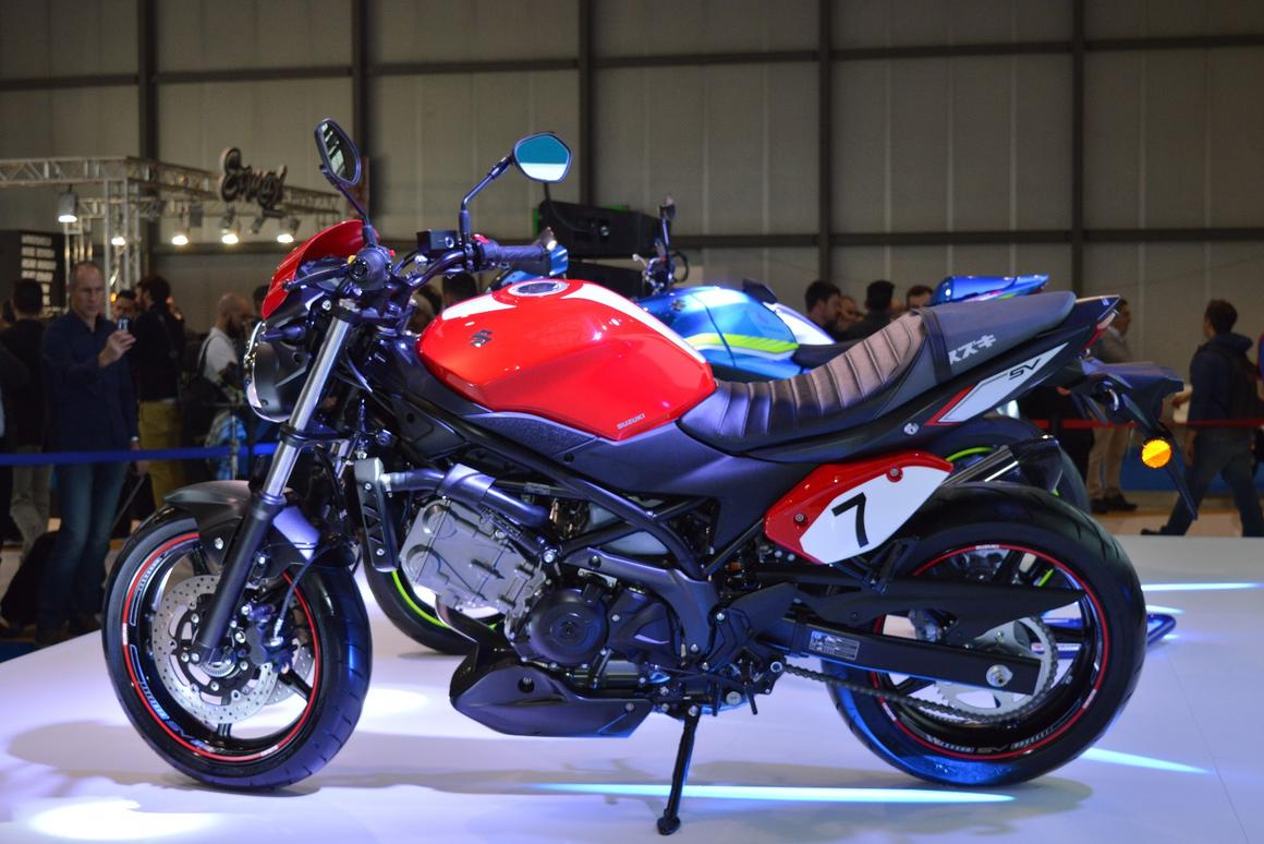 More power, less weight for Suzuki's fourth-generation SV650