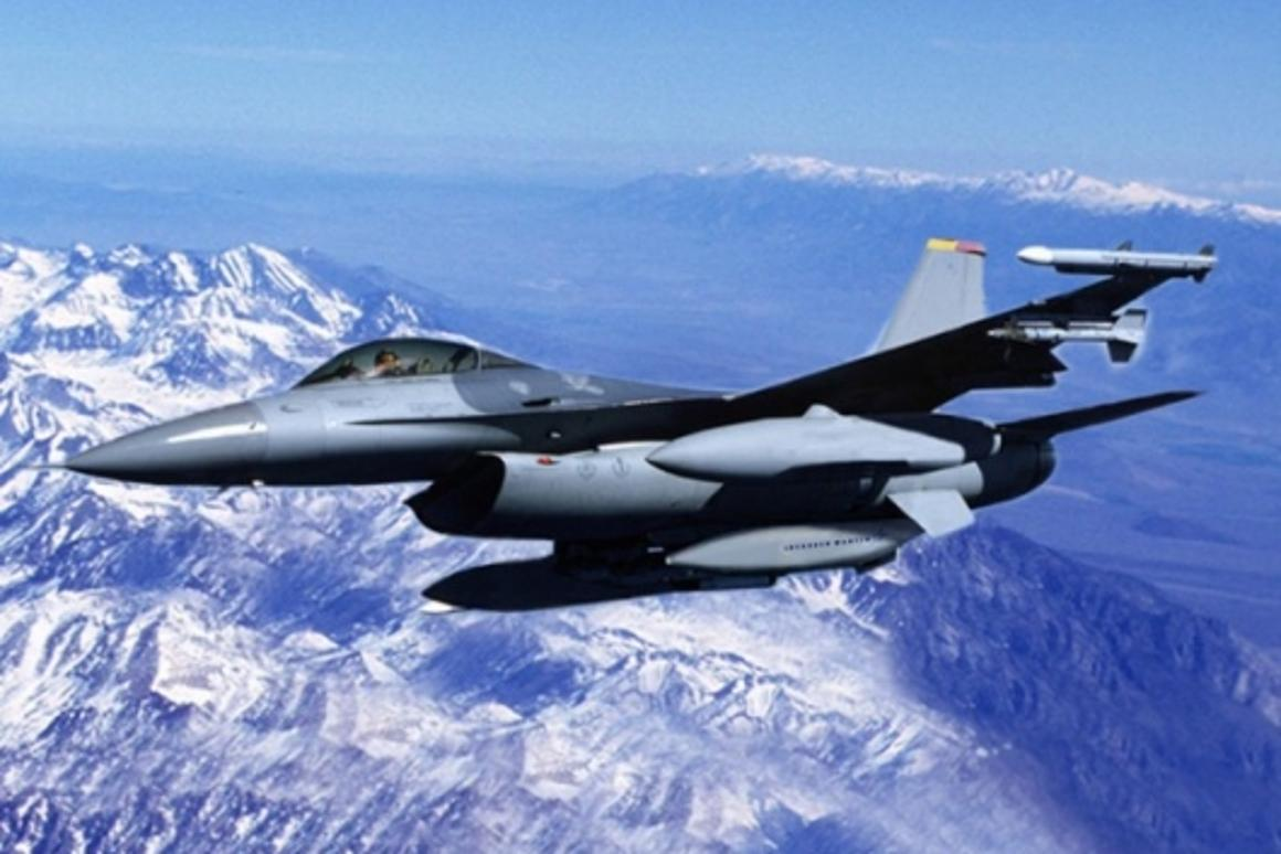 Sniper ATP is being used on F-16'sPhoto: Lockheed Martin