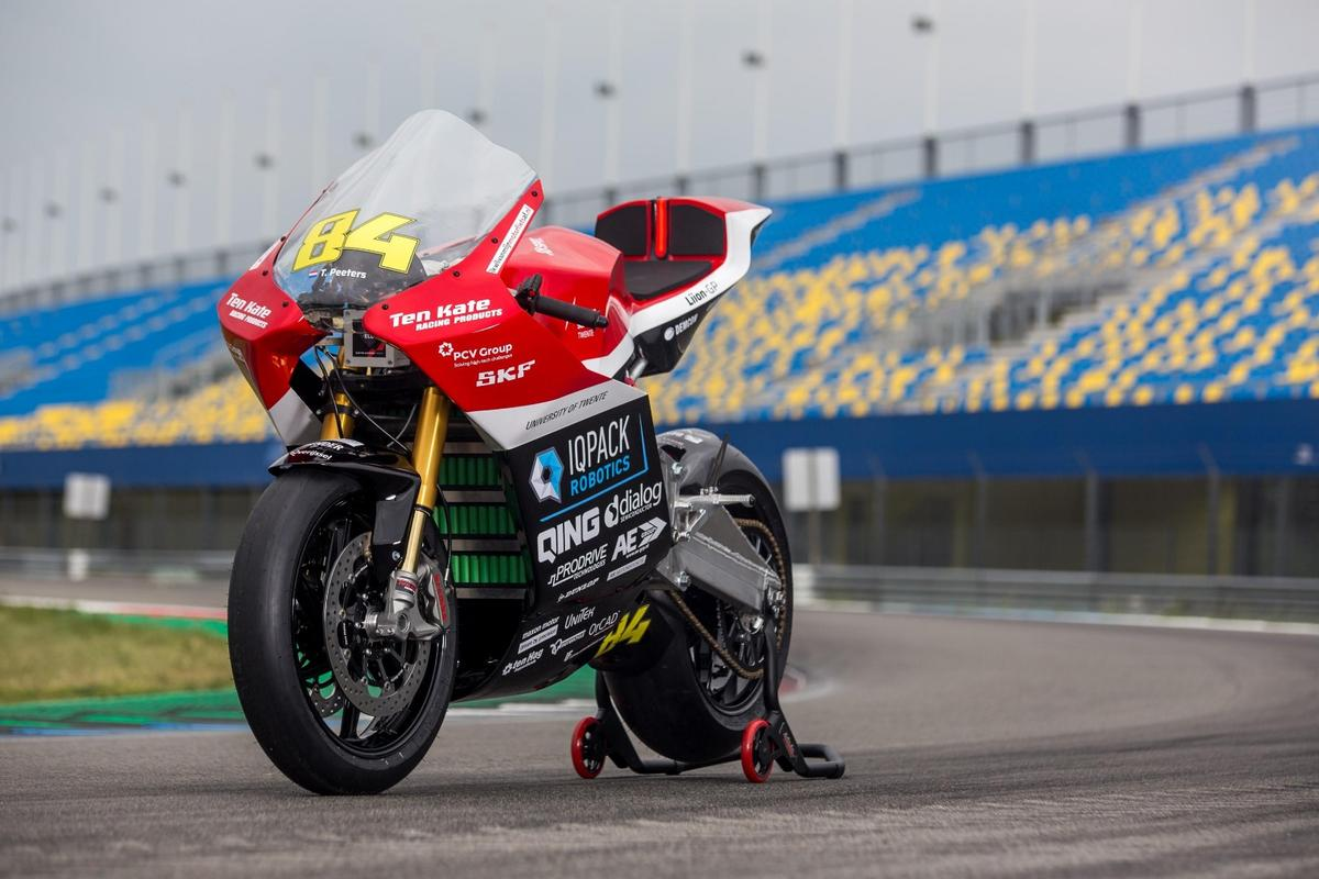 This 150-kilowatt electric monster will take on the field in MotoE competition beginning in July
