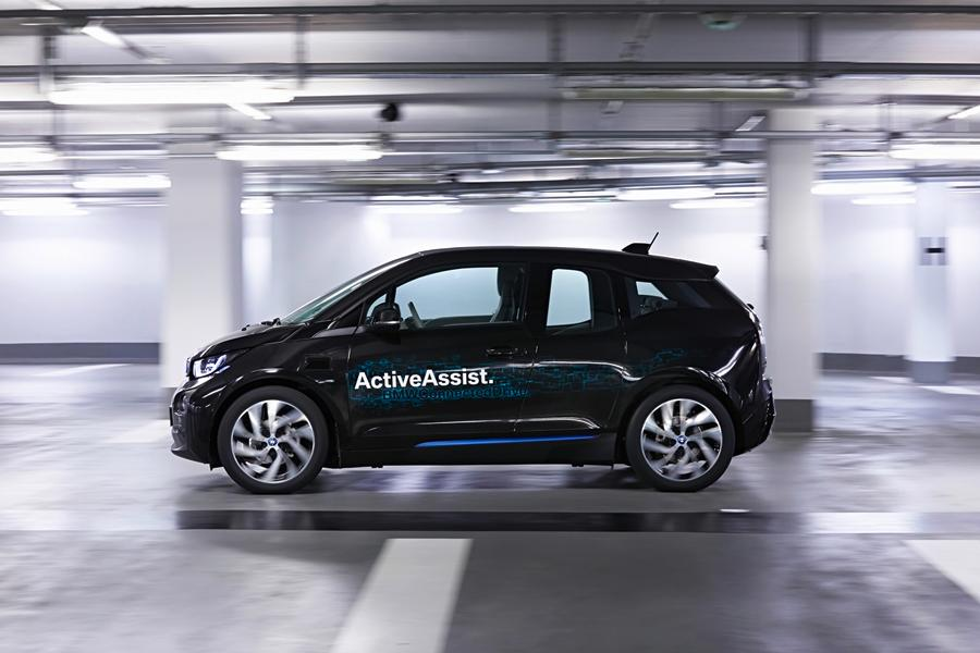 BMW is testing its Remote Valet Parking system, using its i3 research vehicle