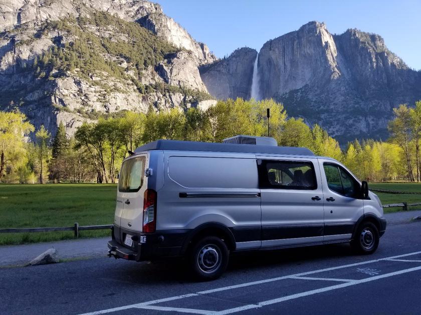 ModVans turns the Ford Transit into a modular, modern camper van
