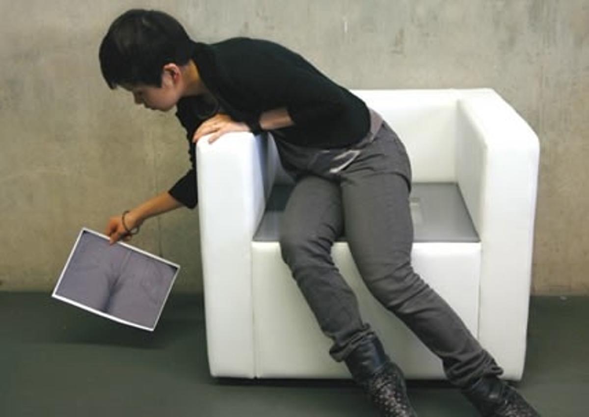 The iBum chair
