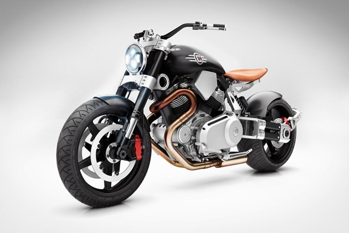 Confederate S X132 Hellcat Speedster Hot Rod Motorcycle Is A