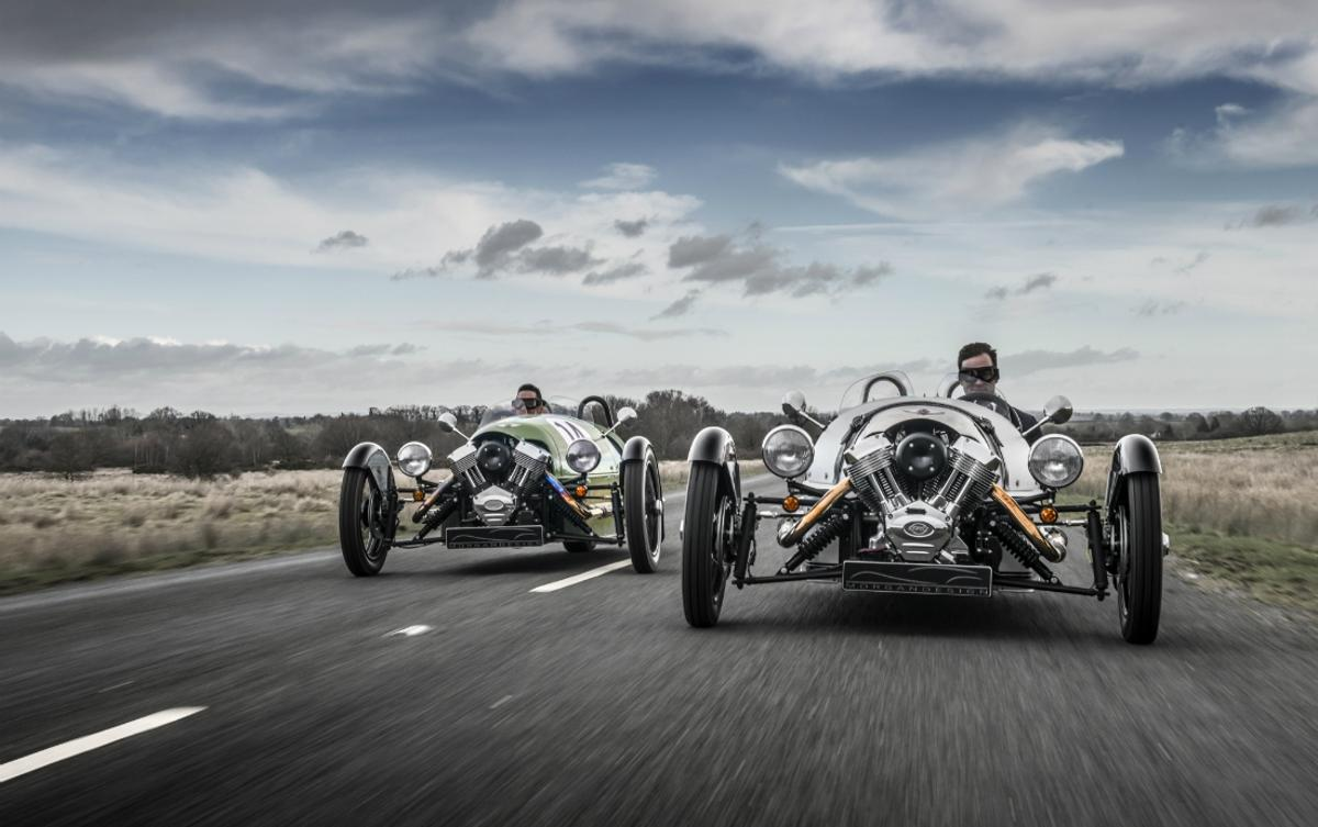Morgan has promised to modernise its powertrains with a range of hybrid and electric cars
