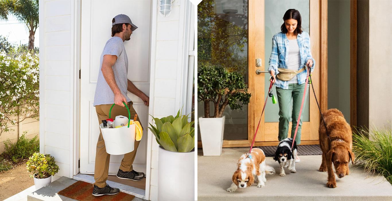 Amazon points out that its Key service could also be useful when it comes to letting in dog walkers, pet sitters and house cleaners