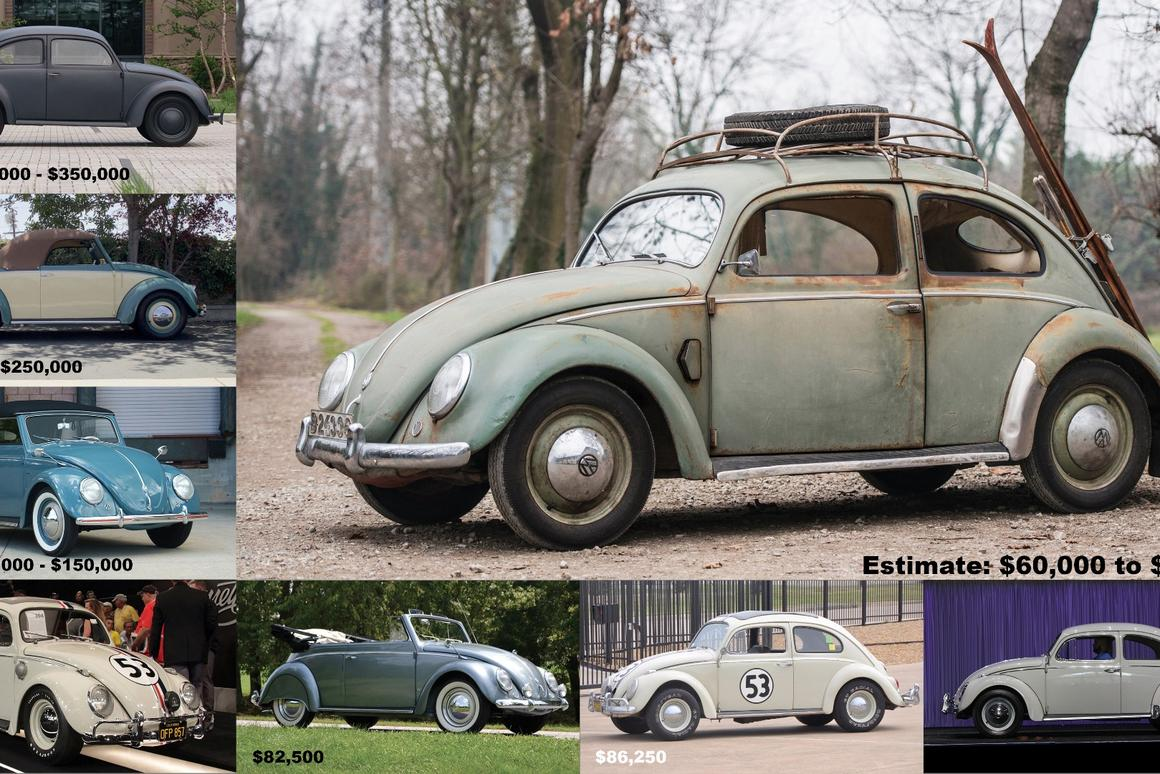 This1952 Volkswagen Type 1 Beetleis estimated by RM-Sothebys to sell for between€55,000 and €80,000 when it goes to auction on February8, 2017atPlace Vauban in Paris.