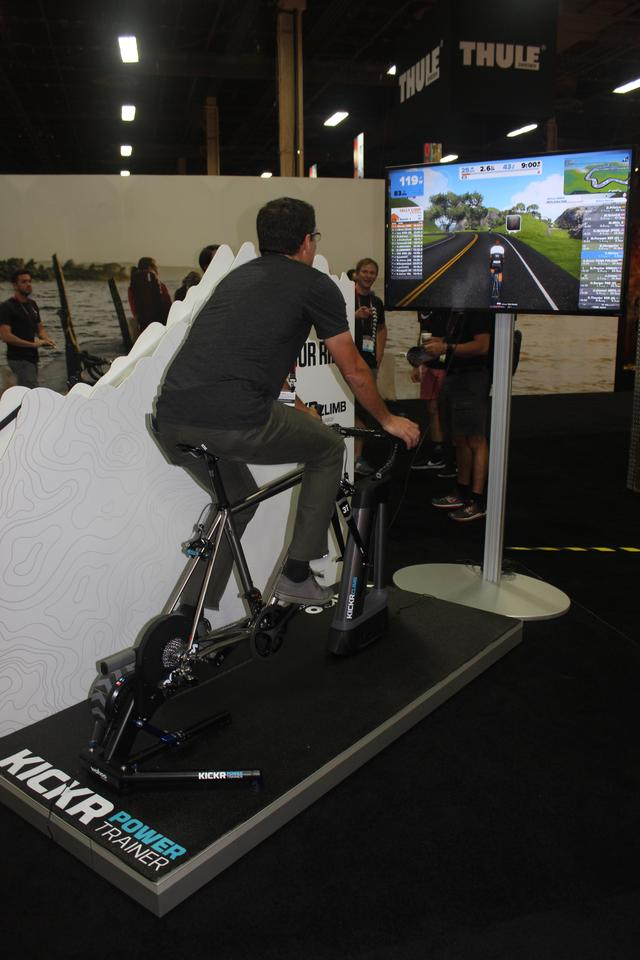 Wahoo Fitness adds a new angle to indoor cycling