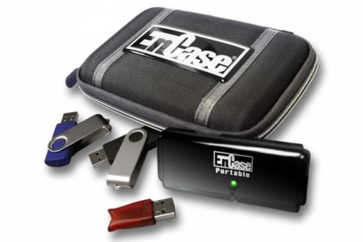 The EnCase Portable USB drive