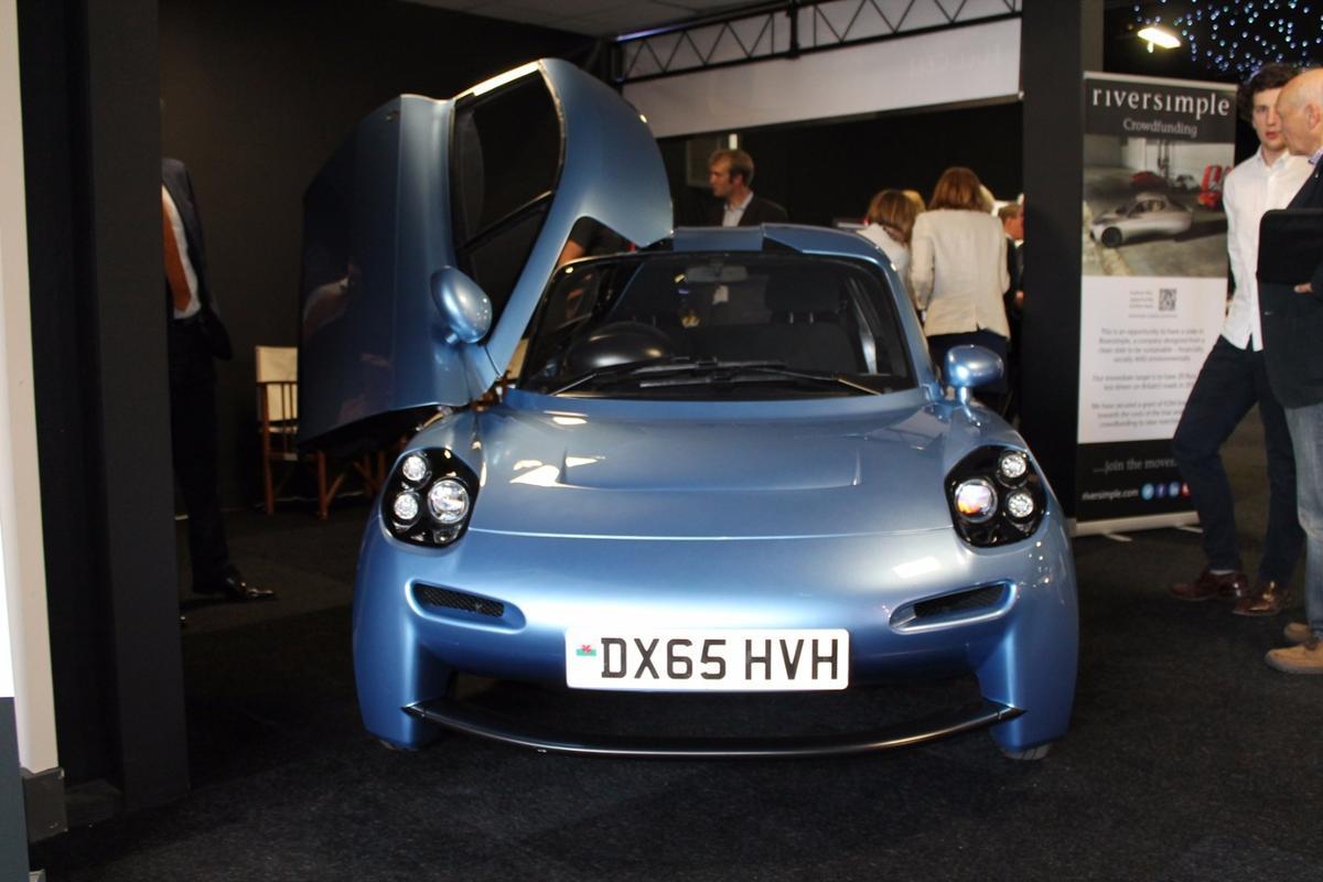 Riversimple Rasa prototype at the London Motor Show