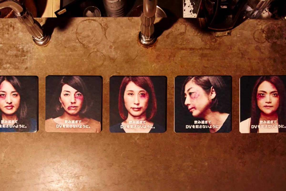 The Violent Coasters are part of a social campaign to promote responsible drinking