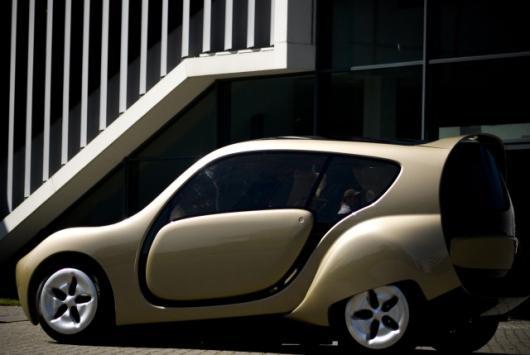 The futuristic c,mm,n car